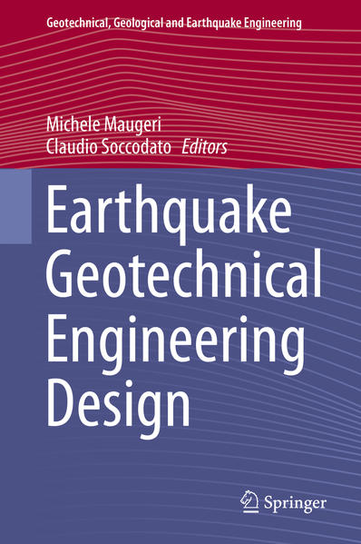 Earthquake Geotechnical Engineering Design - Coverbild