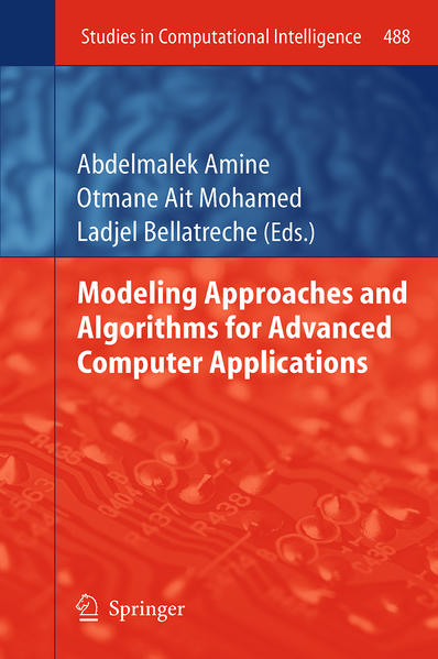 Modeling Approaches and Algorithms for Advanced Computer Applications - Coverbild