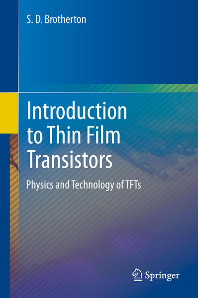 Introduction to Thin Film Transistors - Coverbild