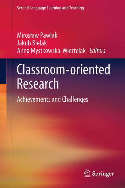 Classroom-oriented Research - Coverbild