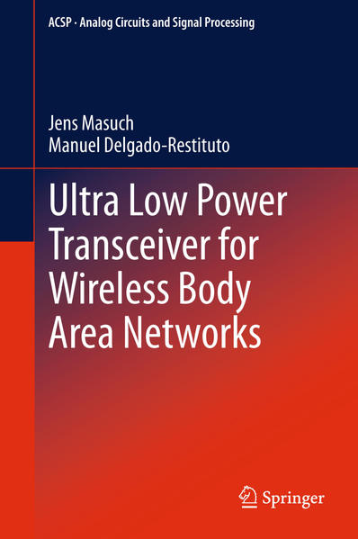 Ultra Low Power Transceiver for Wireless Body Area Networks - Coverbild