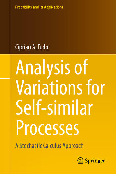 Analysis of Variations for Self-similar Processes - Coverbild