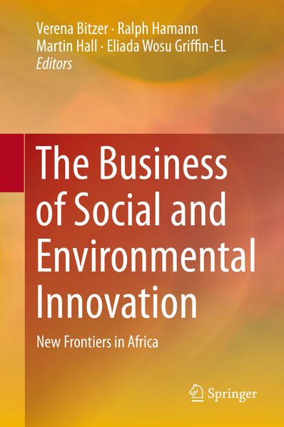 The Business of Social and Environmental Innovation - Coverbild