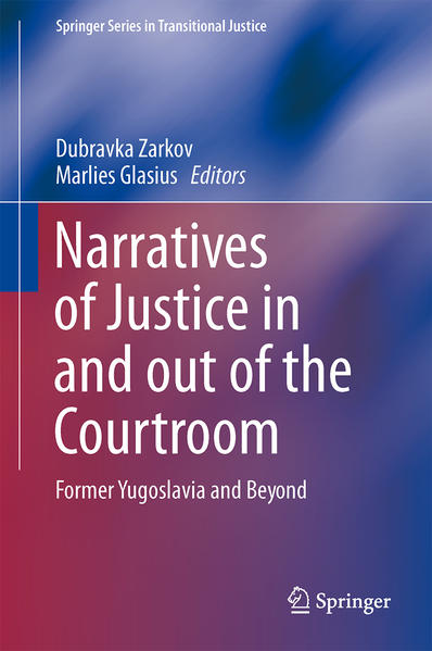 Narratives of Justice In and Out of the Courtroom - Coverbild