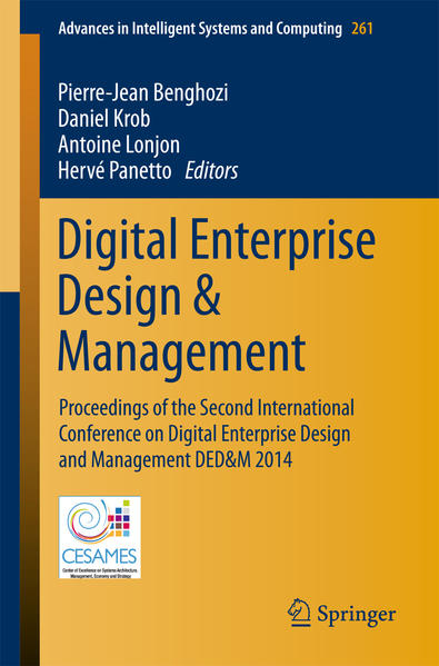 Digital Enterprise Design & Management - Coverbild