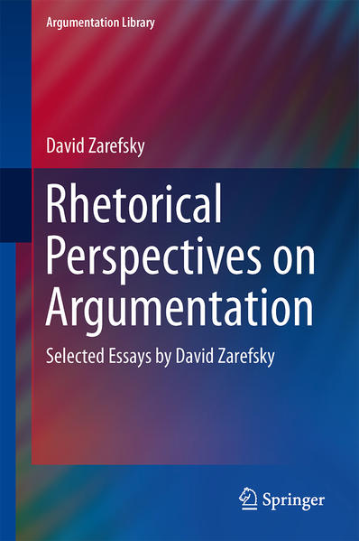 Rhetorical Perspectives on Argumentation - Coverbild