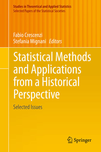 Statistical Methods and Applications from a Historical Perspective - Coverbild