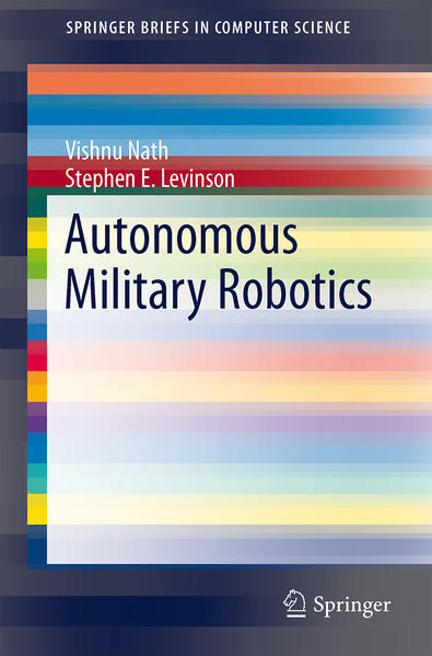 Autonomous Military Robotics - Coverbild