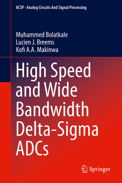 High Speed and Wide Bandwidth Delta-Sigma ADCs - Coverbild