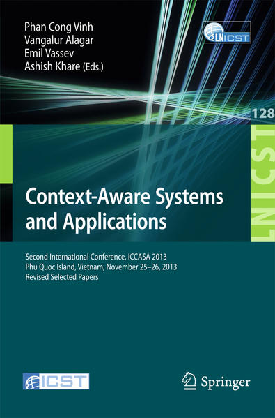 Context-Aware Systems and Applications - Coverbild