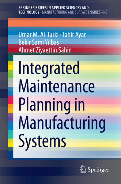 Integrated Maintenance Planning in Manufacturing Systems - Coverbild