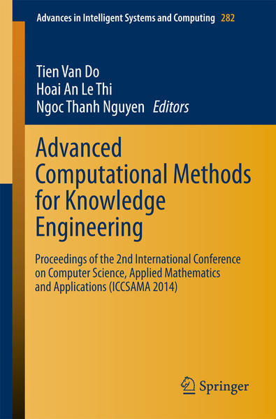Advanced Computational Methods for Knowledge Engineering - Coverbild