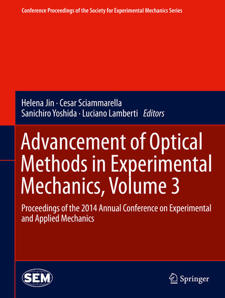 Advancement of Optical Methods in Experimental Mechanics, Volume 3 - Coverbild