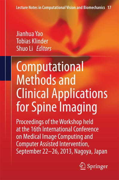 Computational Methods and Clinical Applications for Spine Imaging - Coverbild