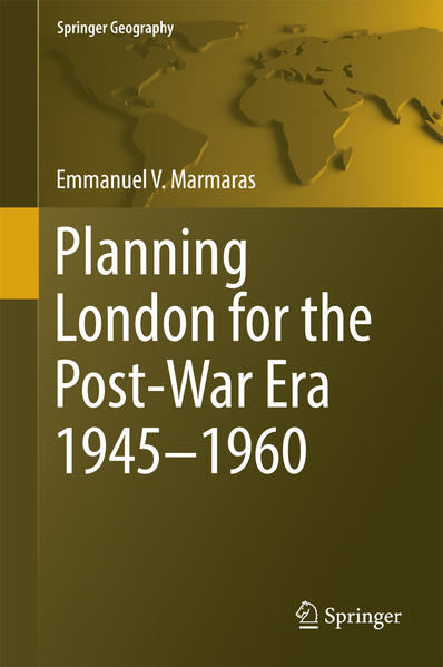 Planning London for the Post-War Era 1945-1960 - Coverbild