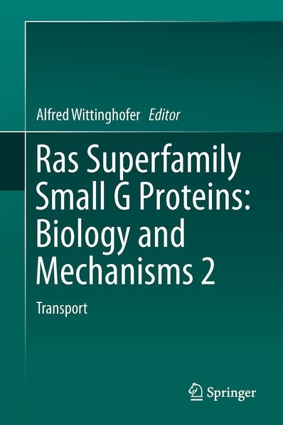 Ras Superfamily Small G Proteins: Biology and Mechanisms 2 - Coverbild