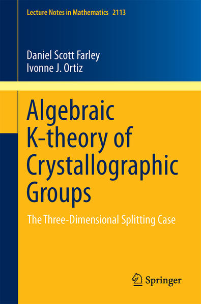 Algebraic K-theory of Crystallographic Groups - Coverbild