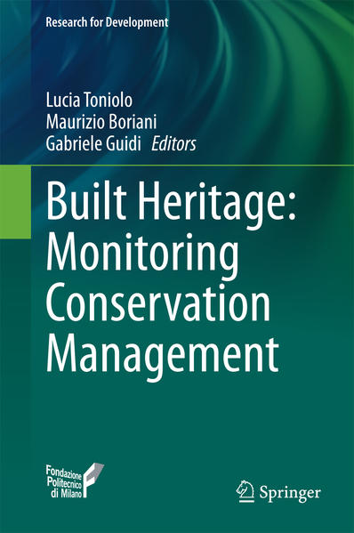 Built Heritage: Monitoring Conservation Management - Coverbild