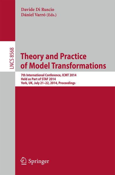 Theory and Practice of Model Transformations - Coverbild
