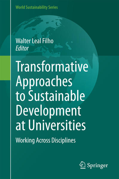 Transformative Approaches to Sustainable Development at Universities - Coverbild