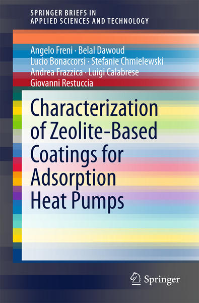 Characterization of Zeolite-Based Coatings for Adsorption Heat Pumps - Coverbild