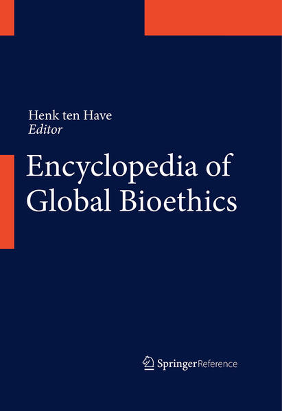 Encyclopedia of Global Bioethics - Coverbild