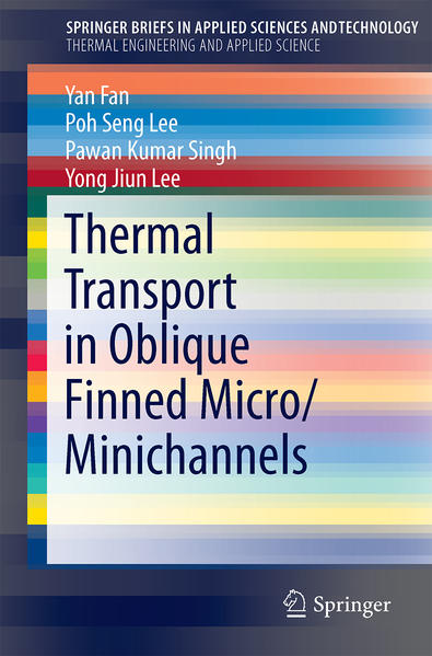 Thermal Transport in Oblique Finned Micro/Minichannels - Coverbild