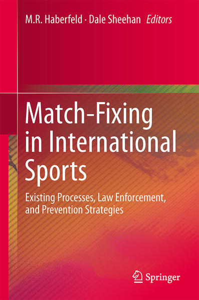 Match-Fixing in International Sports - Coverbild