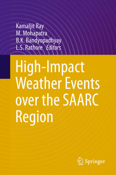 High-Impact Weather Events over the SAARC Region - Coverbild