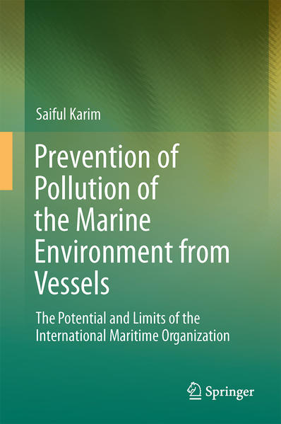 Prevention of Pollution of the Marine Environment from Vessels - Coverbild