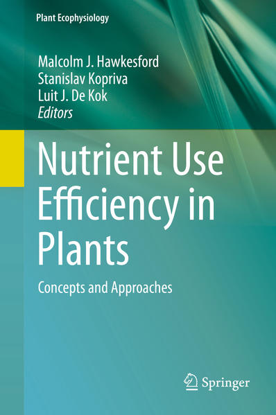 Nutrient Use Efficiency in Plants - Coverbild