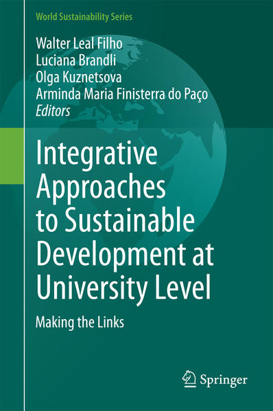 Integrative Approaches to Sustainable Development at University Level - Coverbild