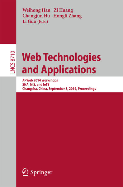 Web Technologies and Applications - Coverbild