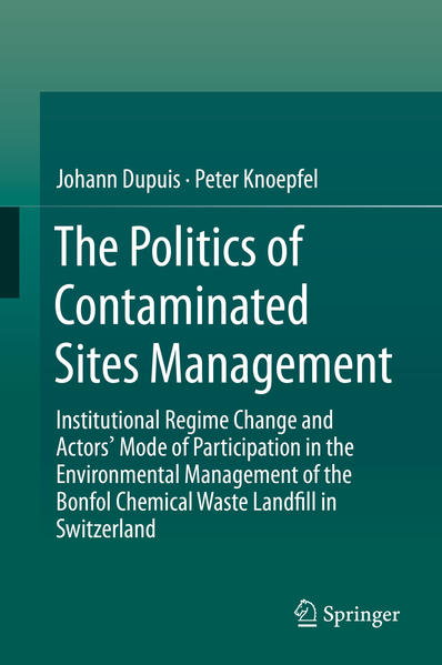 The Politics of Contaminated Sites Management - Coverbild