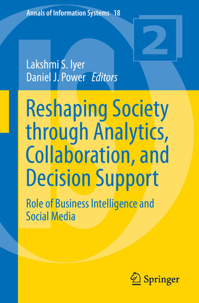 Reshaping Society through Analytics, Collaboration, and Decision Support - Coverbild