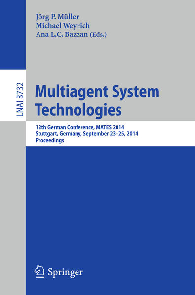 Multiagent System Technologies - Coverbild