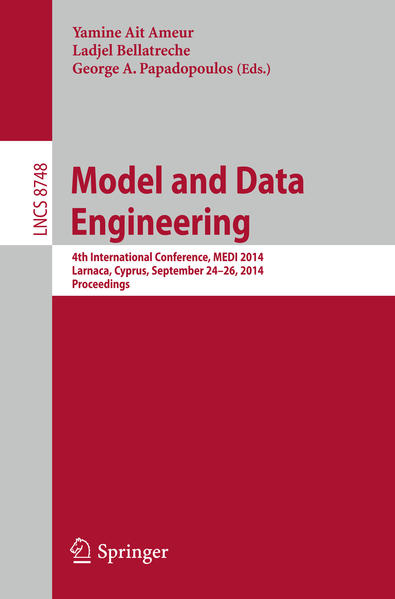 Model and Data Engineering - Coverbild