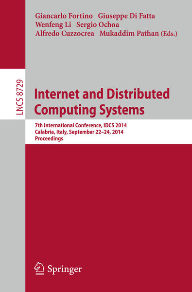 Internet and Distributed Computing Systems - Coverbild
