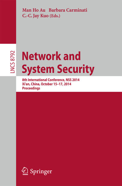 Network and System Security - Coverbild