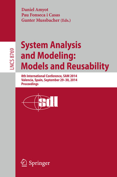 System Analysis and Modeling: Models and Reusability - Coverbild