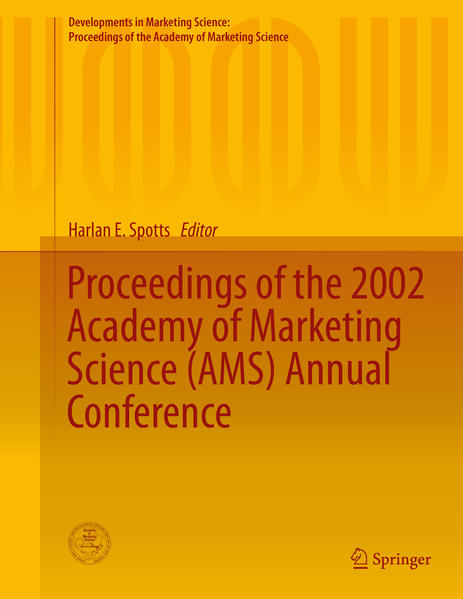 Proceedings of the 2002 Academy of Marketing Science (AMS) Annual Conference - Coverbild
