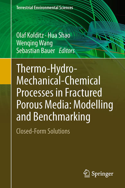 Thermo-Hydro-Mechanical-Chemical Processes in Fractured Porous Media: Modelling and Benchmarking - Coverbild