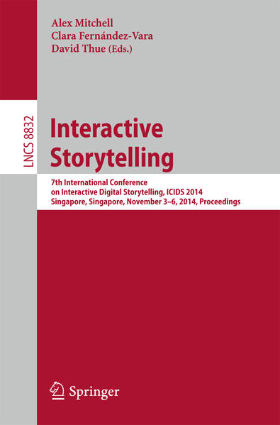 Interactive Storytelling - Coverbild