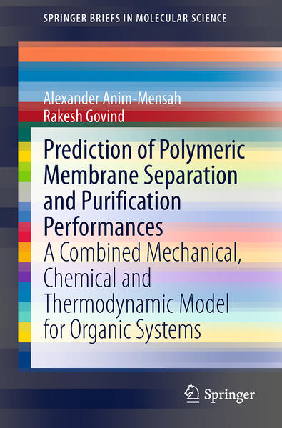 Prediction of Polymeric Membrane Separation and Purification Performances - Coverbild