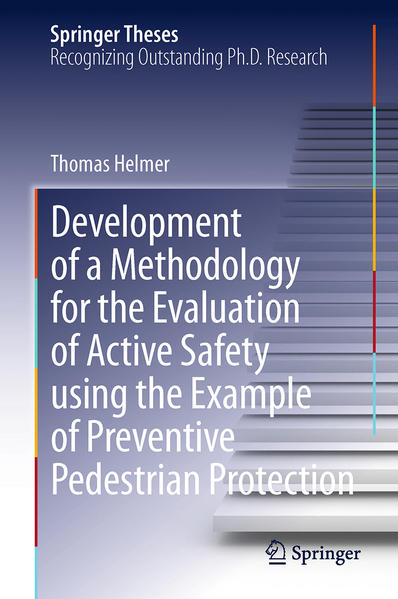 Development of a Methodology for the Evaluation of Active Safety using the Example of Preventive Pedestrian Protection - Coverbild