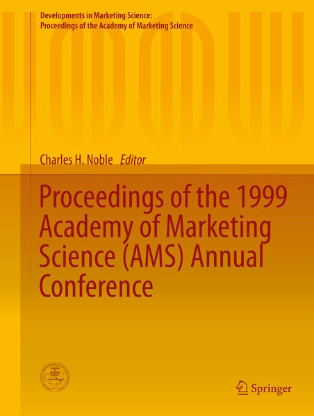 Proceedings of the 1999 Academy of Marketing Science (AMS) Annual Conference - Coverbild