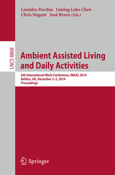 Ambient Assisted Living and Daily Activities - Coverbild