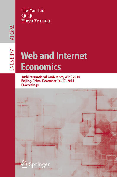 Web and Internet Economics - Coverbild