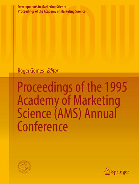 Proceedings of the 1995 Academy of Marketing Science (AMS) Annual Conference - Coverbild