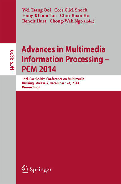 Advances in Multimedia Information Processing - PCM 2014 - Coverbild